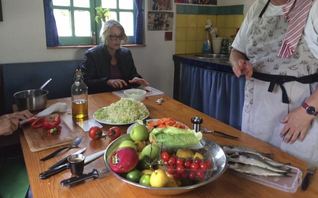 "Dinner Event 2016 ""Mermaid's Delight"" - Cooking in Barbara's Finca"